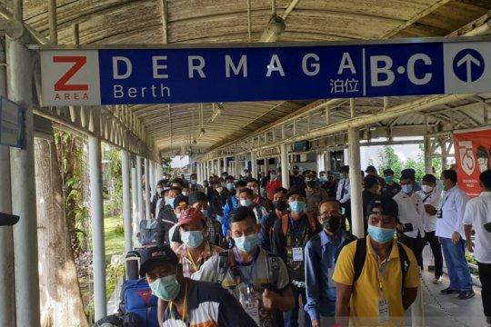 66 PMI jalani karantina di Batam