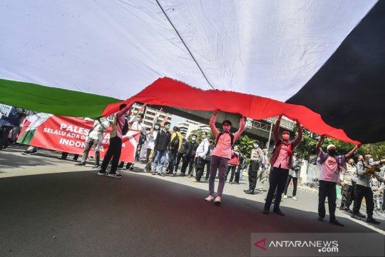Aksi solidaritas dukung Palestina