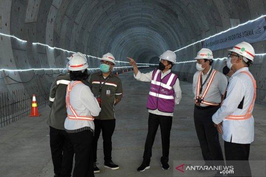 Kereta cepat Jakarta - Bandung ditargetkan beroperasi pada akhir 2022