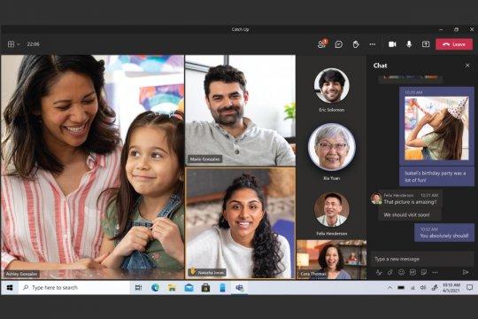 Microsoft Teams sediakan fitur panggilan video gratis