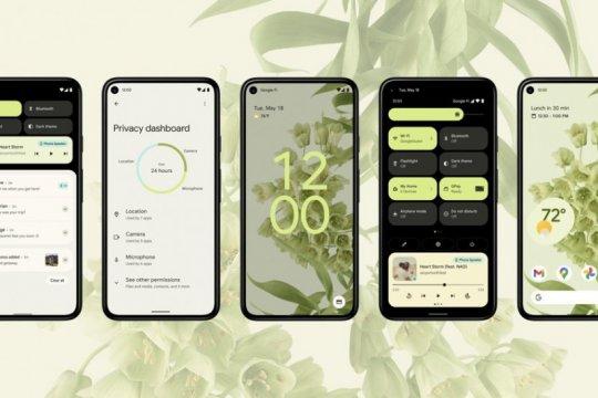 Android 12 tawarkan sistem baru dibungkus tampilan segar