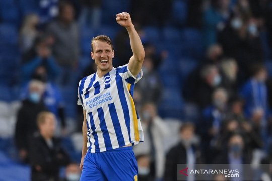 Rekor kemenangan tandang Manchester City berakhir di Brighton