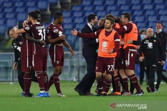 Torino kirim Benevento terdegradasi ke Serie B seusai imbangi Lazio