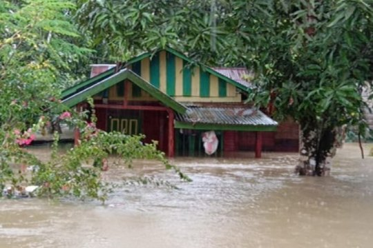9.532 jiwa terdampak banjir di Aceh Selatan