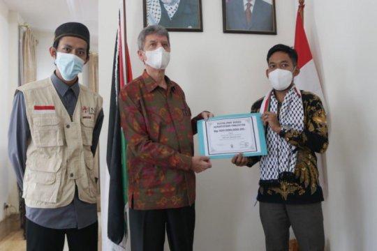 Lembaga Kemanusiaan Internasional serahkan bantuan bagi Palestina