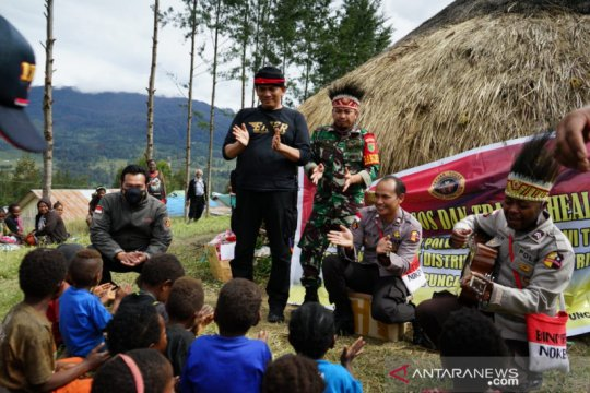 Kepala Suku: Tak ada pembakaran rumah penduduk di Paluga