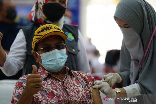 Total 14,8 juta penduduk Indonesia telah divaksinasi COVID-19