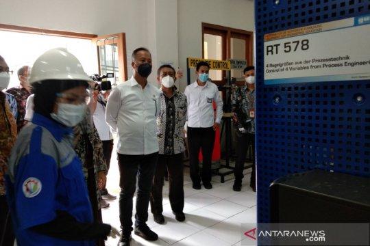 Menteri Perindustrian tinjau fasilitas SMK-SMTI Yogyakarta