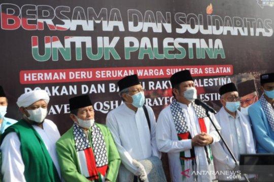 Pemprov sumsel gandeng ACT salurkan bantuan untuk Palestina