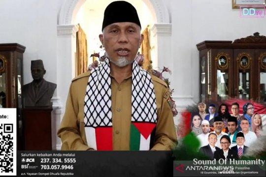 Gubernur Sumbar ajak masyarakat berdoa dan berdonasi untuk Palestina