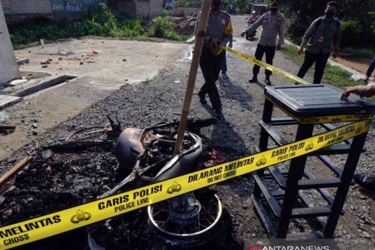 Pembakaran Markas Polsek Candipuro, Lampung