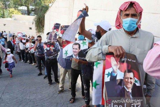 Assad menangi jabatan ke-4  Presiden Suriah, raih 95% suara