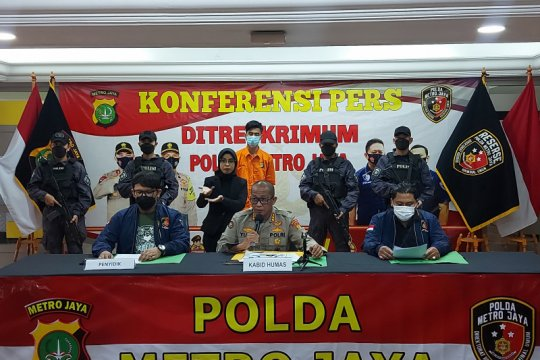 Polda Metro tangkap pelaku pencurian dan kekerasan seksual di Bekasi