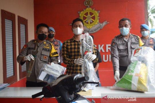 Polres Bulungan tangkap tersangka pembunuhan pakai senjata api rakitan