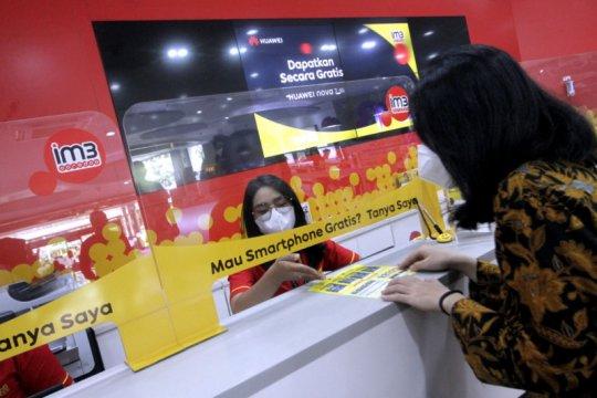 Indosat Ooredo catat kinerja positif kuartal I 2021