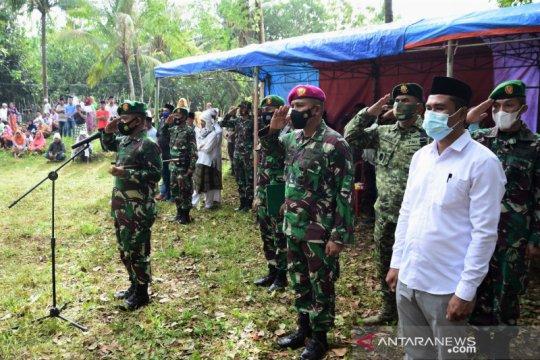 Danrem Binaya pimpin pemakaman anggota TNI yang meninggal di Papua