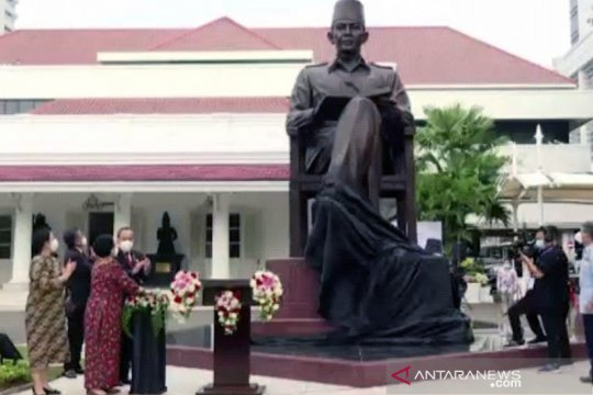 Megawati resmikan Monumen Bung Karno di Lemhannas
