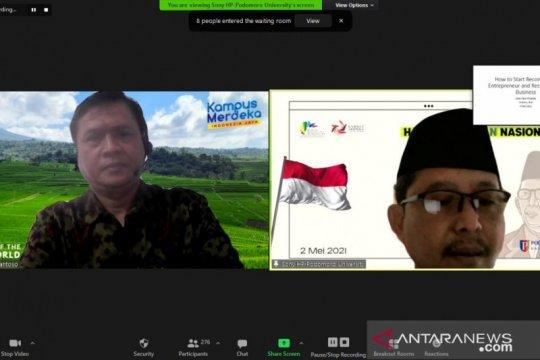 Undhira-Bali terima hibah Program Kewirausahaan Kemendikbud Ristek