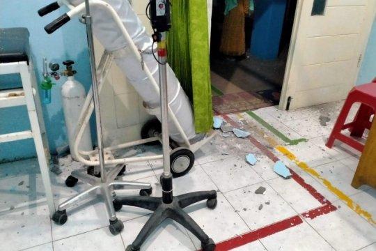 Sejumlah bangunan di Blitar rusak akibat gempa magnitudo 6,2
