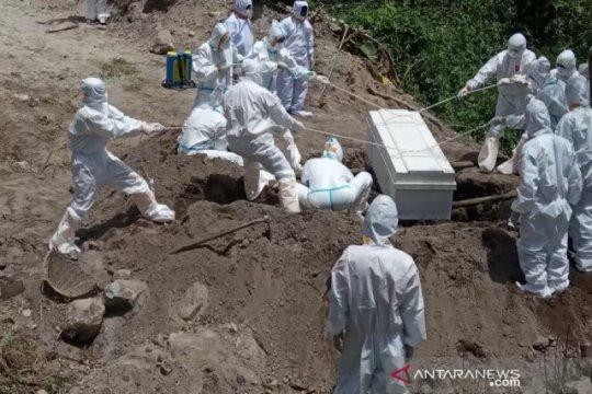 Sembilan warga Aceh positif COVID-19 meninggal dunia, total jadi 524