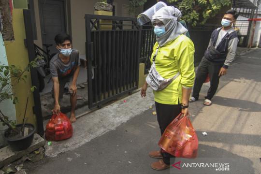 107 warga Jakarta Pusat meninggal saat isolasi mandiri