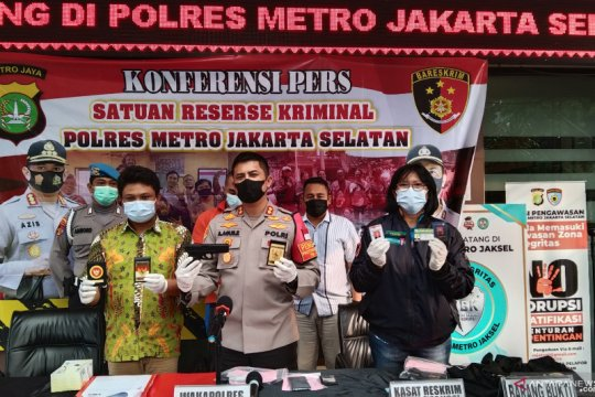 Polres Jaksel tangkap polisi gadungan yang tipu sejumlah pengusaha