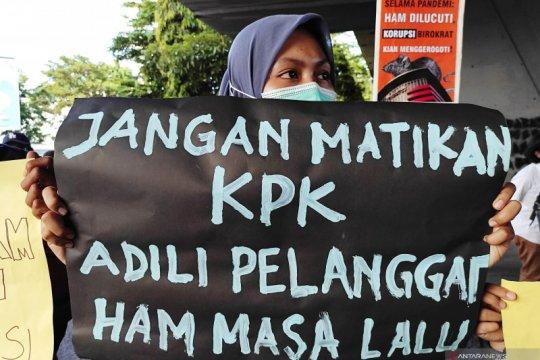 Fraksi Rakyat Makassar minta Presiden Jokowi sikapi pelemahan KPK