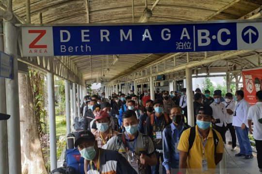 594 PMI masih jalani karantina dan isolasi di Batam