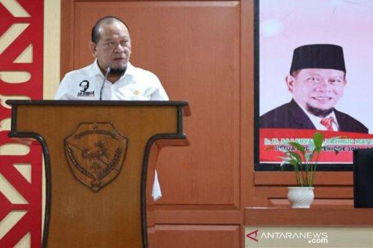 Ketua DPD RI sambut baik kebijakan RNI manfaatkan tebu petani lokal