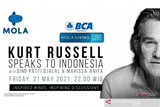 Kurt Russell siap berbagi cerita kepada pencinta film di Indonesia