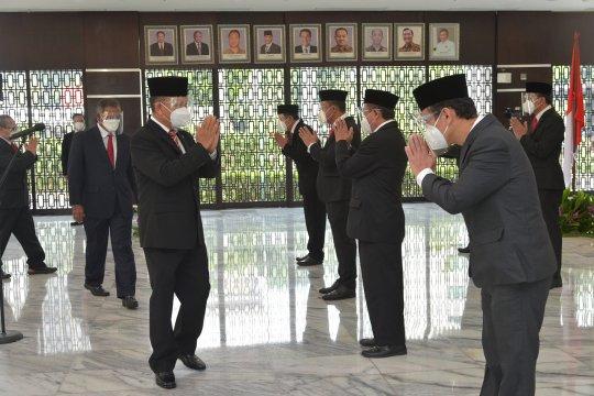 Menteri ESDM lantik delapan pimpinan tinggi pratama di kementeriannya