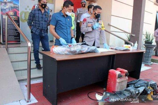 Tersangka kasus kecelakaan air ditahan di Mapolres Boyolali