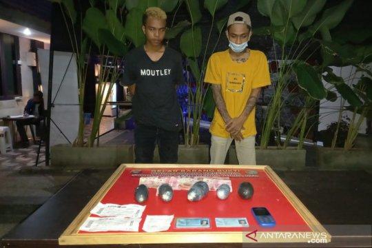 Polda NTB ringkus dua pemuda selundupkan sabu dari Batam