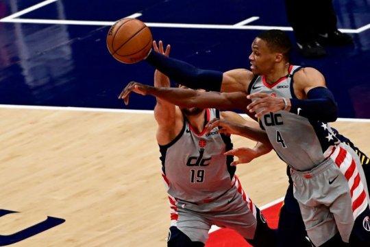 Wizards lolos ke babak playoff setelah tundukkan Pacers 142-115