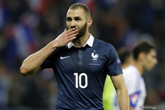 Karim Benzema sudah tidak sabar main bareng Kylian Mbappe di Euro 2020