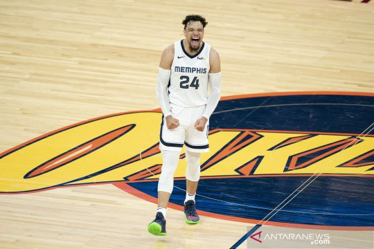 Grizzlies taklukkan unggulan teratas Jazz pada gim pertama playoff NBA
