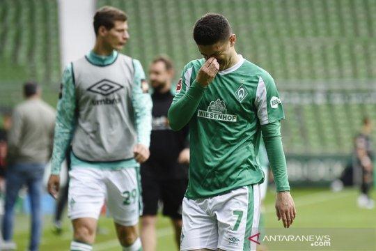 Bremen terdegradasi, Arminia Bielefeld aman, Cologne ikuti playoff