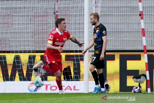 Union rebut tiket Eropa terakhir seusai menang dramatis atas Leipzig