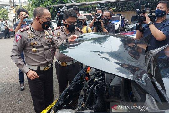 Polda Metro tangkap pelaku tabrak lari tukang mi ayam di Senayan