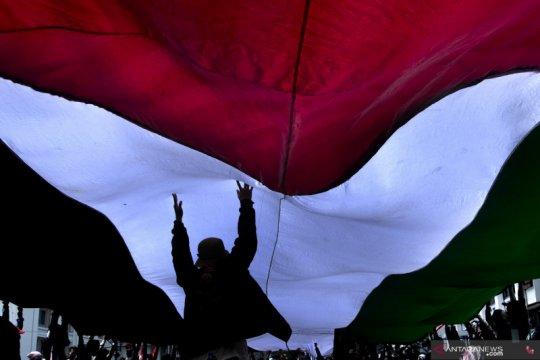 Aksi dukung Palestina di Bandung