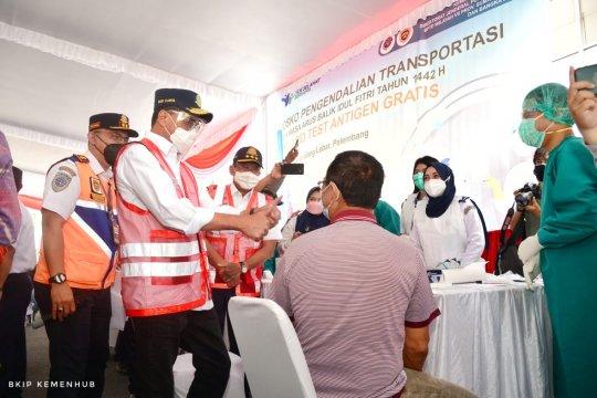 Kemenhub intensifkan tes acak di Terminal Bus Alang-Alang Lebar