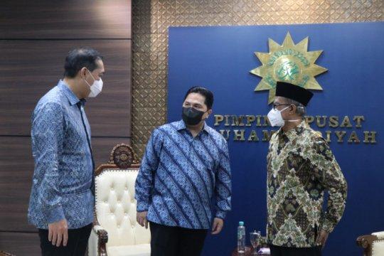 Dua menteri bersilaturahim dengan Pimpinan Pusat Muhammadiyah