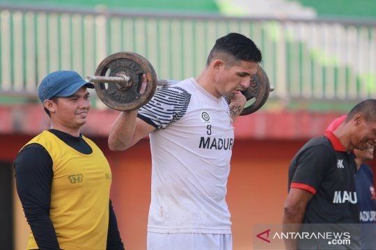 Madura United fokus perbaiki kondisi fisik pemain