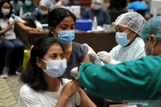 ITDC lakukan vaksinasi tahap dua bagi pekerja pariwisata The Nusa Dua