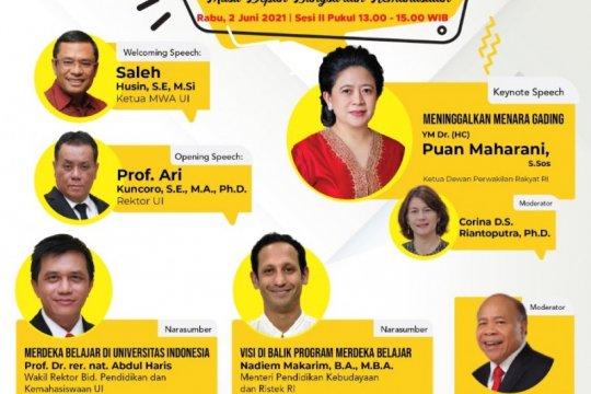 Webinar MWA UI hadirkan Puan Maharani bahas pendidikan Indonesia