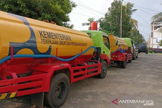 Kementerian PUPR bantu pasok air bersih korban banjir Bengkulu