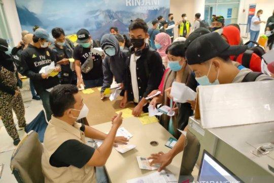 13.541 pekerja migran Indonesia asal NTB kembali ke kampung halaman