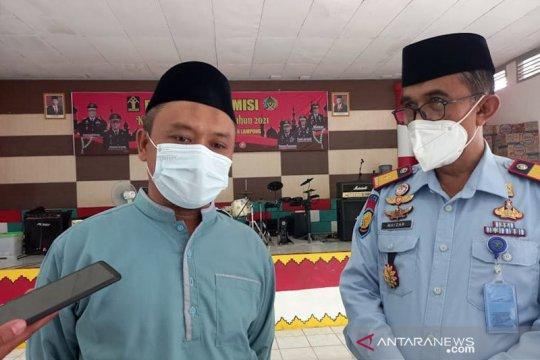 88 napi dan tiga pegawai Lapas Rajabasa-Lampung positif COVID-19