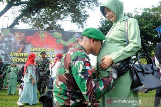 Pelepasan prajurit Yonif 315/Garuda Satgas Pamrahwan Papua