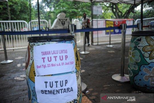 Enam tempat wisata di Bandung ditutup sementara